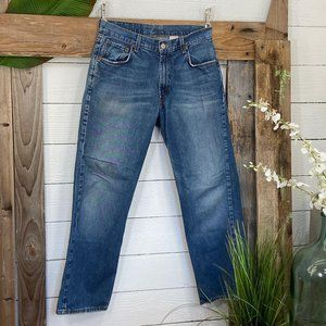 Lucky Brand  Denim Jeans  Loose Fit Short Inseam
